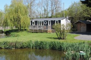 Location mobil-home de l'Etang Camping**** L'Escapade en Normandie