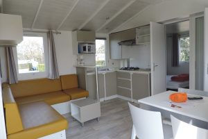 Location mobil-home Caraïbes Camping**** L'Escapade en Normandie