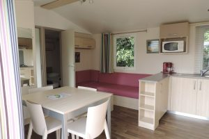 Location mobil-home Flores Camping**** L'Escapade en Normandie
