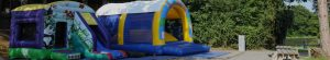 jeux-gonflables-banniere camping Normandie