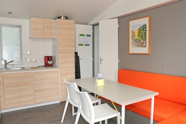 Location mobil-home Mercure Camping**** L'Escapade en Normandie