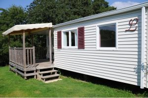Location mobil-home Pacifique Camping**** L'Escapade en Normandie