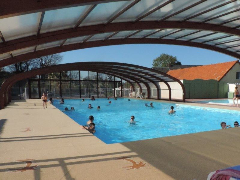 Camping 4 toiles normandie piscine couverte calvados for Camping haute normandie piscine
