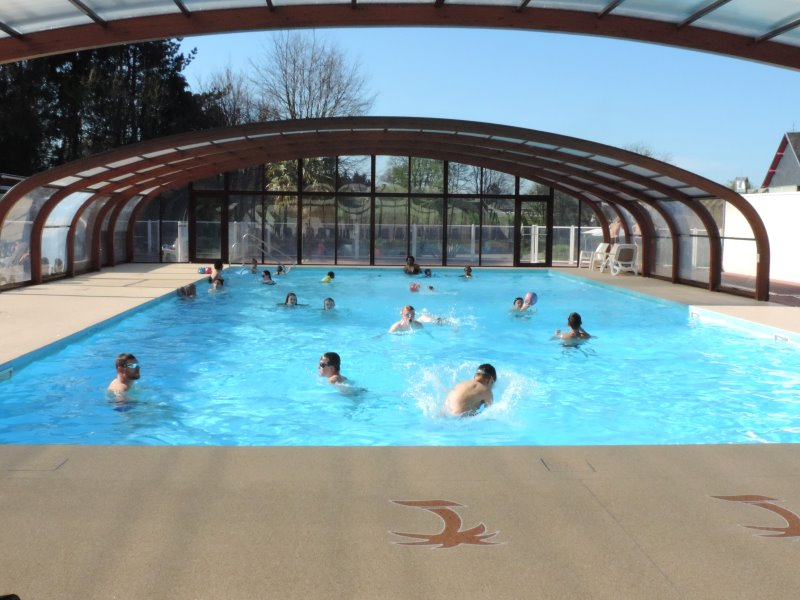 Camping 4 toiles normandie piscine couverte calvados for Camping normandie piscine couverte