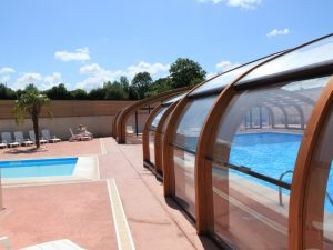 piscine chauffée camping Normandie